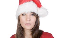 辅助工少许s少年的圣诞老人 免版税库存图片