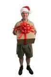 辅助工s圣诞老人 免版税库存照片