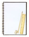辅助部件空白笔访学校 免版税图库摄影
