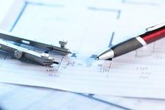 辅助部件结构 免版税图库摄影