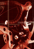 辅助部件自行车 图库摄影