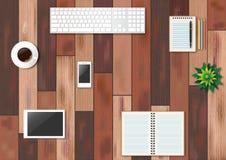 辅助部件所有艺术是能不同的容易地编辑的eps格式图象单个分层堆积被移动的办公室单独向量 免版税图库摄影