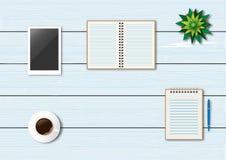 辅助部件所有艺术是能不同的容易地编辑的eps格式图象单个分层堆积被移动的办公室单独向量 免版税库存图片
