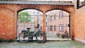 2辆自行车 库存图片
