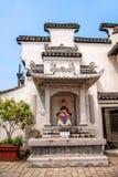 辉山古老寺庙在无锡,江苏 免版税库存照片