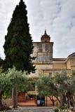 辉煌的修道院和圣所玛丹娜 图库摄影