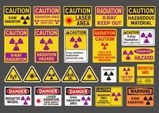 辐射标志 向量例证