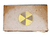 辐射符号 免版税库存照片