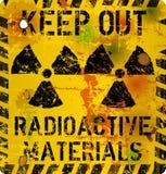 辐射警报信号, 向量例证
