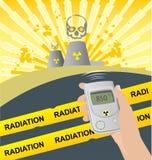 辐射 库存照片
