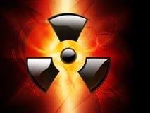 辐射 库存例证