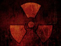 辐射 皇族释放例证