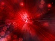 辐形抽象红色背景 向量例证