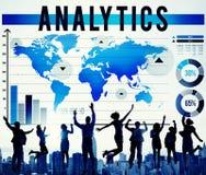 逻辑分析方法分析计划战略营销概念 免版税库存照片