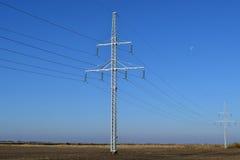 输电线支持 免版税库存照片