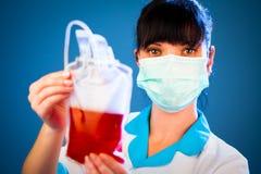 输血人服务 免版税库存图片
