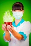 输血人服务 库存图片