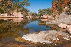 辛普森空白,麦克唐奈范围,澳大利亚 免版税图库摄影