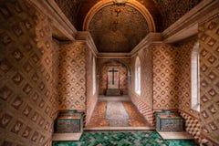 辛特拉全国宫殿内部 免版税库存图片