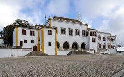 辛特拉全国宫殿葡萄牙 免版税库存照片