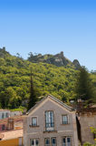 辛特拉是Portugals辛特拉山山麓小丘的度假村,在里斯本附近的首都 库存照片