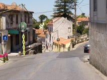 辛特拉葡萄牙村庄  免版税库存照片