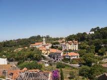 辛特拉葡萄牙村庄  免版税图库摄影