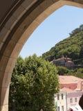 辛特拉葡萄牙村庄  图库摄影