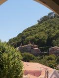 辛特拉葡萄牙村庄  库存图片