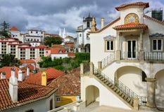 辛特拉镇,葡萄牙 免版税库存照片