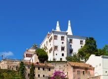 辛特拉,葡萄牙全国宫殿  库存照片