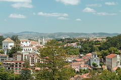 辛特拉,葡萄牙镇  库存照片