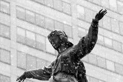 辛辛那提的喷泉正方形 免版税库存图片