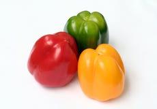 辣椒的果实三 库存照片