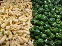 辣椒的果实和kapia 库存图片
