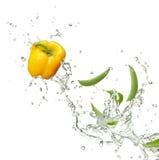 辣椒的果实豌豆 库存图片