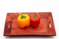 辣椒的果实 库存照片
