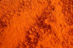 辣椒粉或红色辣椒粉 免版税库存照片
