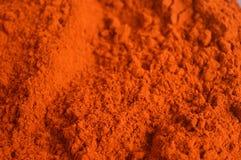 辣椒粉或红色辣椒粉 库存照片