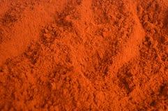 辣椒粉或红色辣椒粉 免版税库存图片