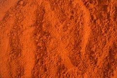 辣椒粉或红色辣椒粉 图库摄影