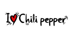 辣椒食物消息 向量例证