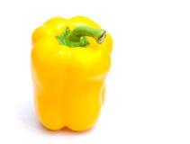辣热的黄色胡椒 库存照片