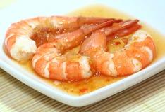 辣的大虾 图库摄影