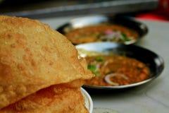 辣巴基斯坦食物 免版税图库摄影