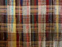 结辨的地毯 库存图片