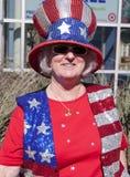 辩论gop共和党人支持者 库存照片