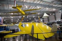 边境飞行博物馆达拉斯内部  免版税库存图片