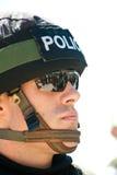 边界以色列警察战士 免版税库存图片