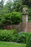 边界和墙壁, Tintinhull庭院,萨默塞特,英国,英国 图库摄影